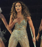 J Lo Goes See-Through and Sparkly to Kick Off Her World Tour