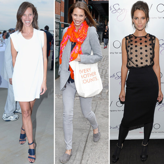 Get an inside-look at Christy Turlington's style from the mother and supermodel herself.