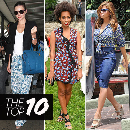 Fab's Top 10 Celebrity Looks of the Week: Miranda, Solange, Eva, and More!