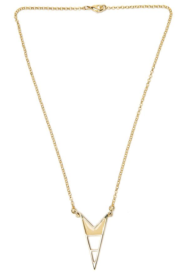 During the Summer, we find ourselves gravitating toward edgier statement jewelry instead of piling on the pieces. To this point, we think this geo-shaped necklace will punch up a laid-back outfit with minimal effort. Lizzie Fortunato Jagged Necklace ($91, originally $130)