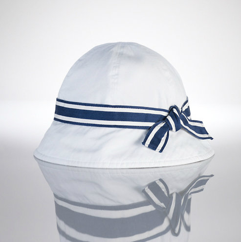Ralph Lauren Girls Nautical Cloche ($35)