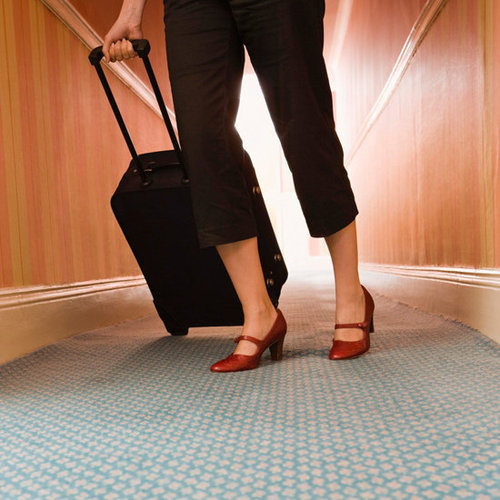 Hotel Room Exercises For Traveling Women