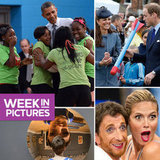 Will and Kate Play With a Nerf Rocket, President Obama Gives a Group Hug, and Heidi Klum Gets Cheeky