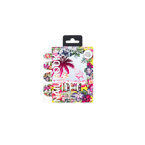 ASOS Nail Rock Wakiki Hawaiian Flowers Nail Wraps, $11 (approx)