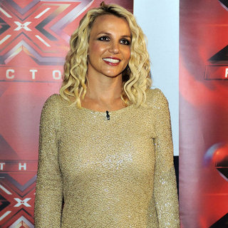 Britney Spears als Jurorin für The X-Factor in San Francisco