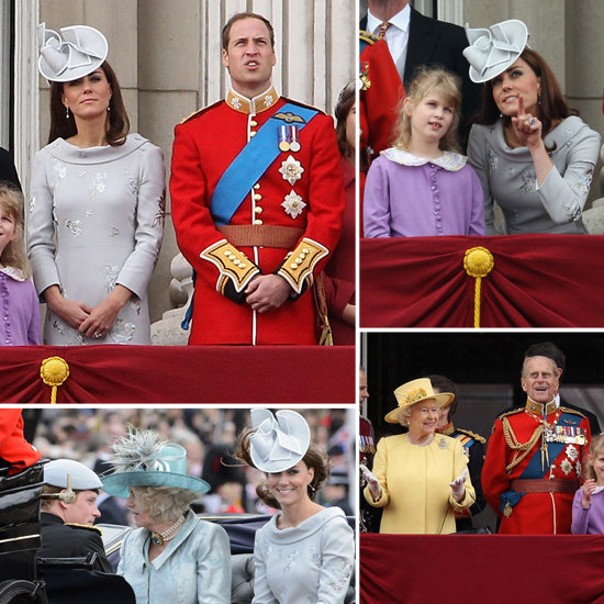 Kate Middleton Pictures at Trooping of the Colour 2012