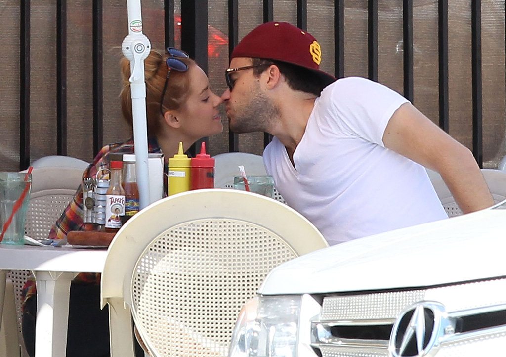 Lauren Conrad Shares Public Kisses Over Brunch