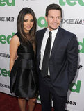 Mila Kunis and Mark Wahlberg at the premiere of Ted in Hollywood this week.