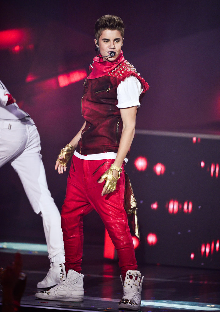 Justin Bieber performed on stage at the MuchMusic Video Awards in Toronto.