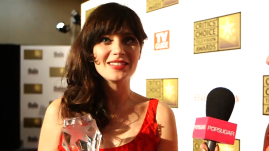 "Video: Zooey Deschanel Talks ""Victorian"" Nail Art and New Girl"