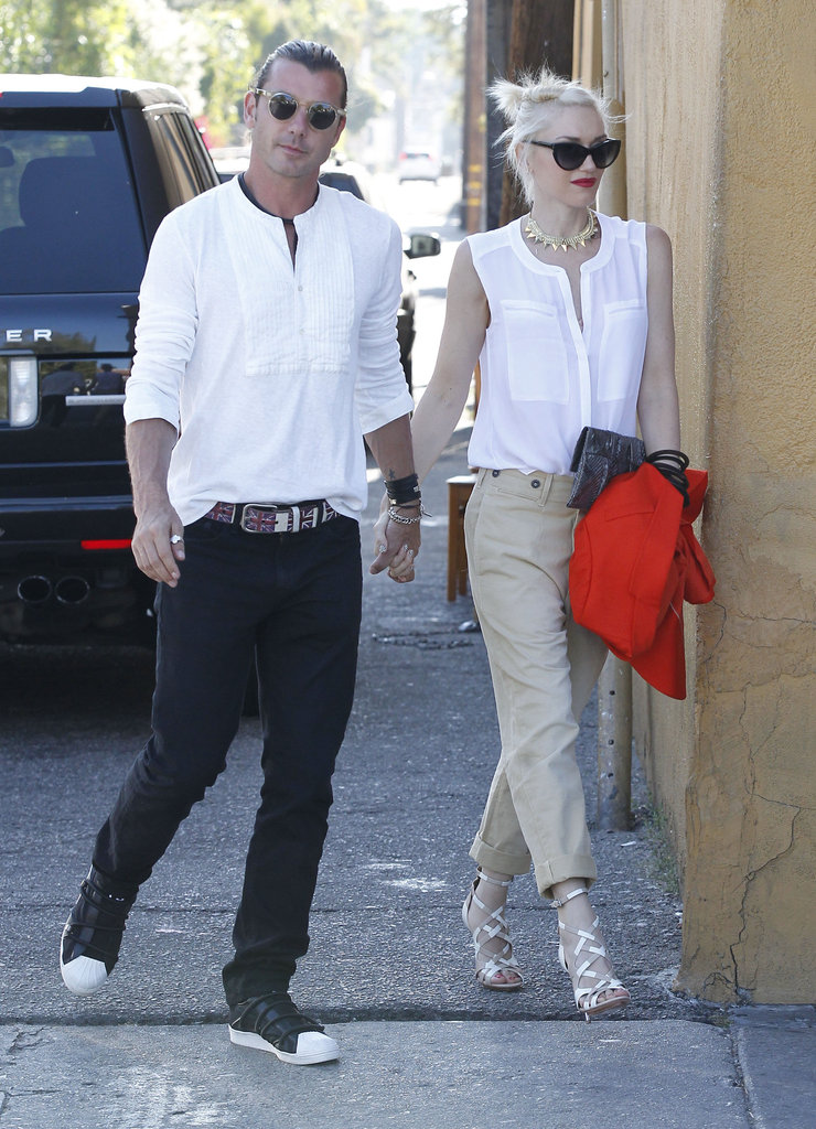 Gwen Stefani and Gavin Rossdale went out to dinner on Father's Day in LA.