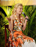 Elizabeth Banks spoke at the Maui Film Festival.
