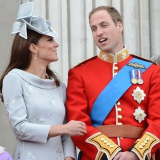 Kate Middleton Prince William Trooping the Colour (Video)