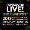 Critics Choice Television Awards Red Carpet Live