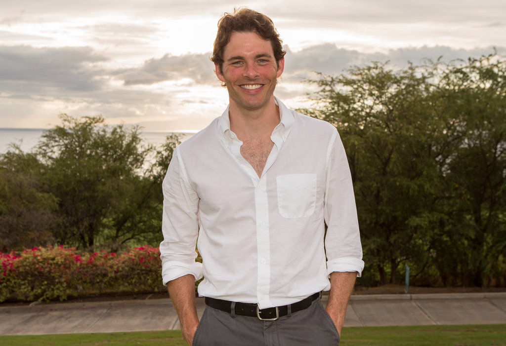 James Marsden posed for a photo at the 2012 Maui Film Festival.