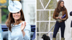 See Kate Middleton Go From Ladylike to Laid-Back