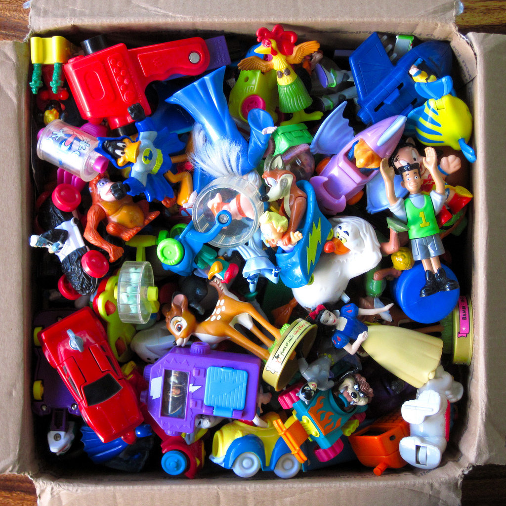 Sort Through Old Toys and Plan a Garage Sale
