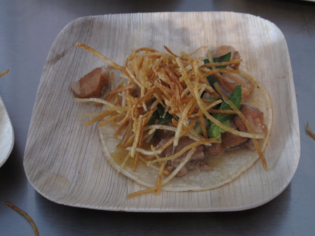 Best New Chef Dish: Coco-Piggy Taco