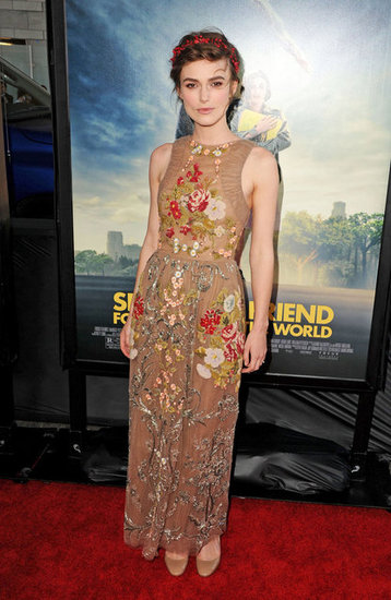 This dress seemed made for Keira, between the delicate embroidery and perfect fit — she's a true beauty.