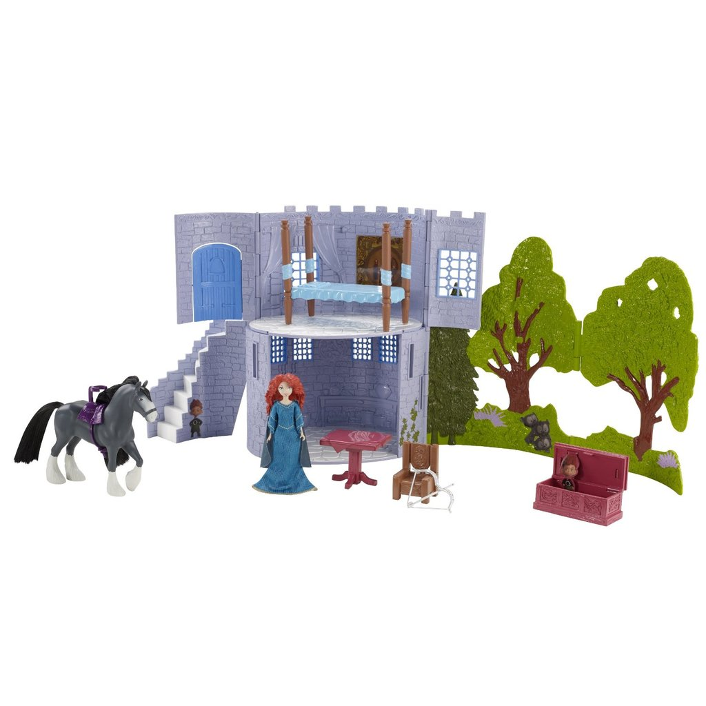 Castle & Forest Playset ($25)