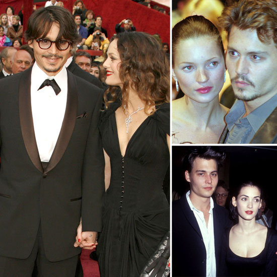 A Look Back at Johnny Depp's Loves