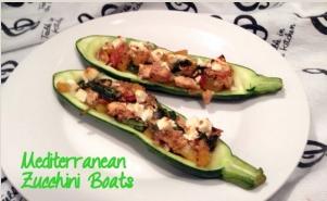 Mediterranean Zucchini Boats