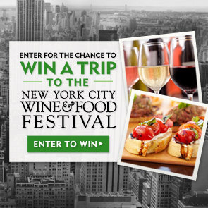 Enter to Win a trip to the NYC Wine & Food Festival!