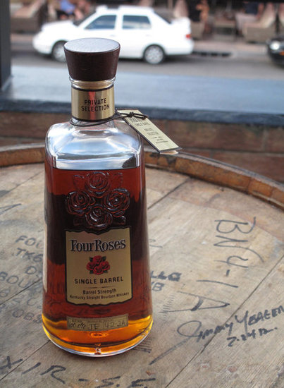 Elixir and Jimmy's Private Collection Four Roses Single Barrel Bourbon