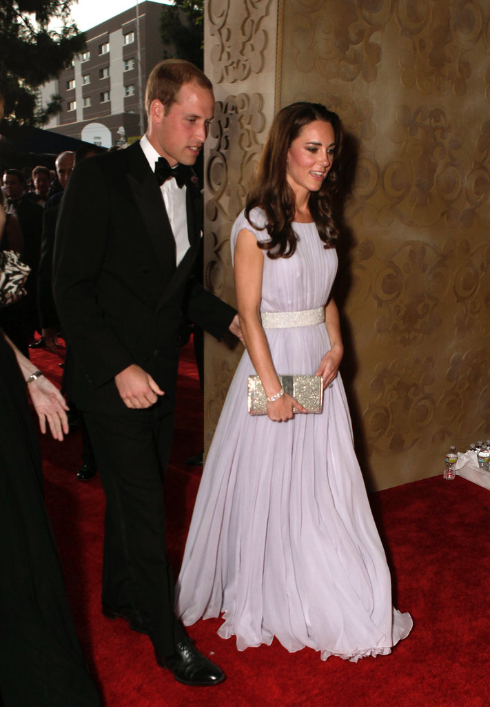 Prince William was in his tux and looking dapper for the Brits to Watch event in July 2011 in LA.