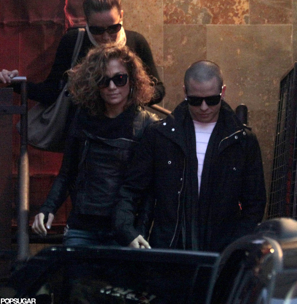 Jennifer Lopez and Casper Smart looked cute together as they held hands in Santiago, Chile.