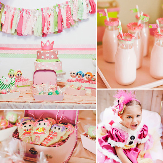 LaLa Sparkles! A Whimsical Lalaloopsy Birthday Party