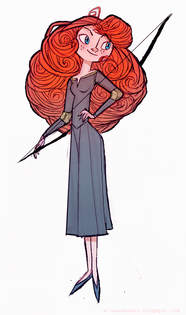 Animated Merida