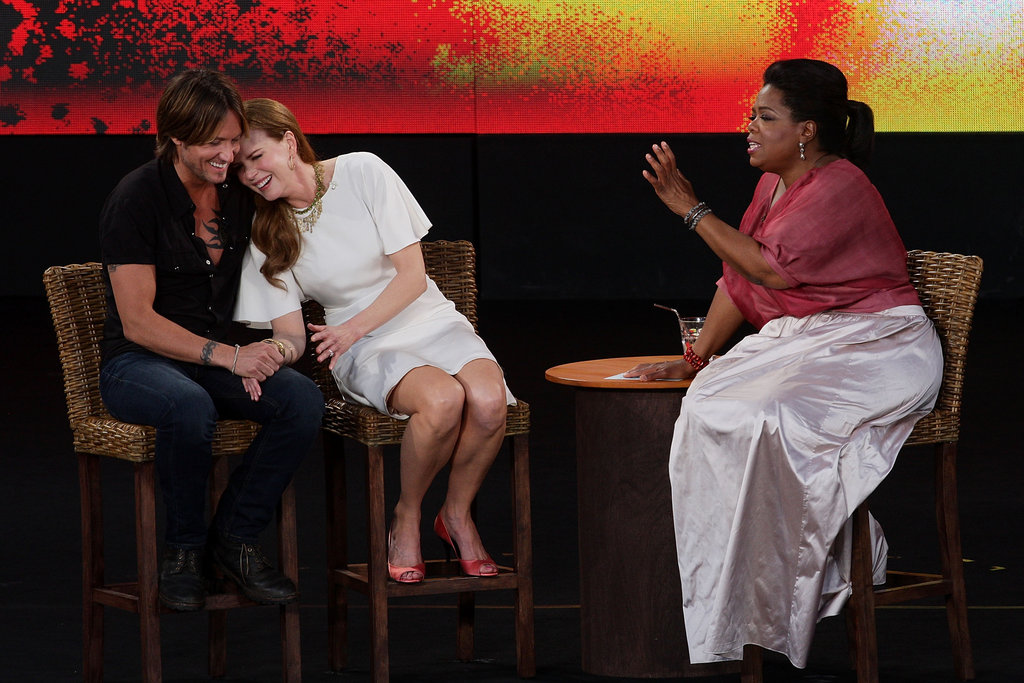 Keith and Nicole were interviewed by Oprah Winfrey during her Australian special in Dec. 2010.