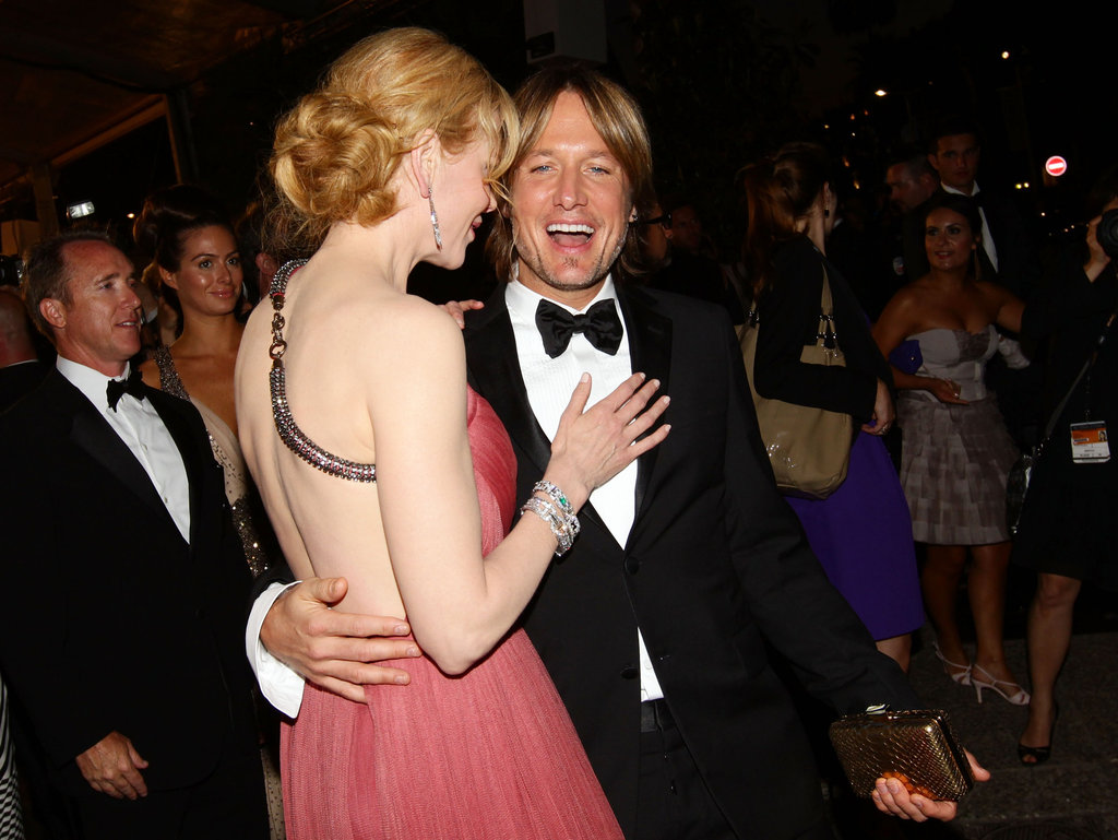 Keith flew from Australia to Cannes to support Nicole at her premiere of The Paperboy in May 2012.