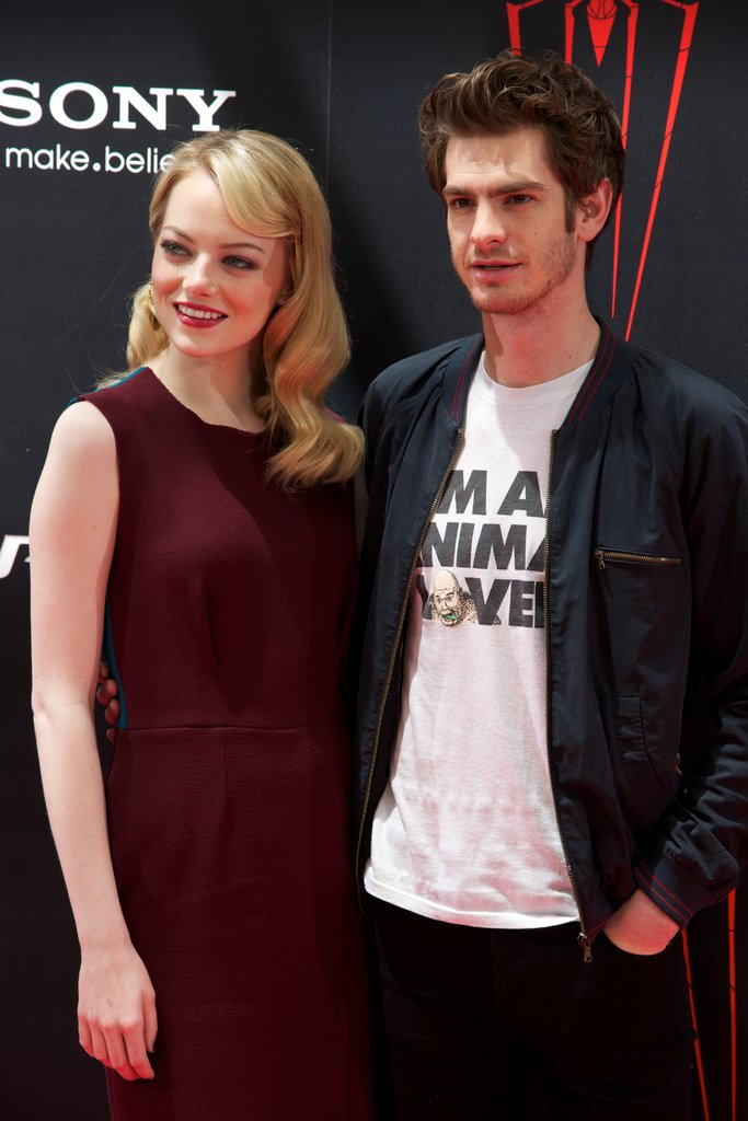 Andrew and Emma Say Hola to Madrid With Spider-Man