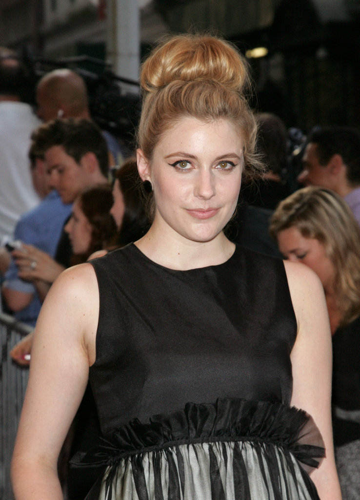 Greta Gerwig smiled at a screening of To Rome With Love at NYC's Paris Theatre.
