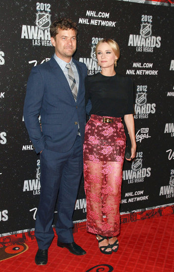 Joshua Jackson and Diane Kruger Have Some Sheer Fun at the NHL Awards