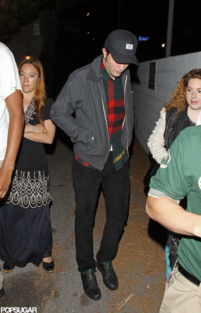 Robert Pattinson was out and about in LA.