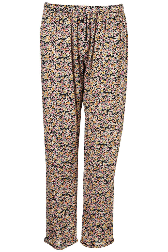 These will make those Sundays folding laundry so much sweeter. That, or take them for a spin in the neighborhood with a breezy tank and neon sandals.   Topshop Floral PJ Trousers ($36)