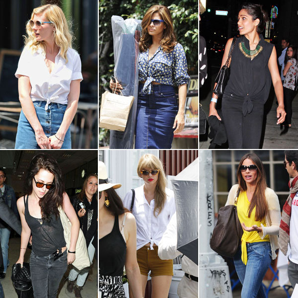 Kirsten, Eva, Taylor, and More Put a Cool Twist on Summer Dressing
