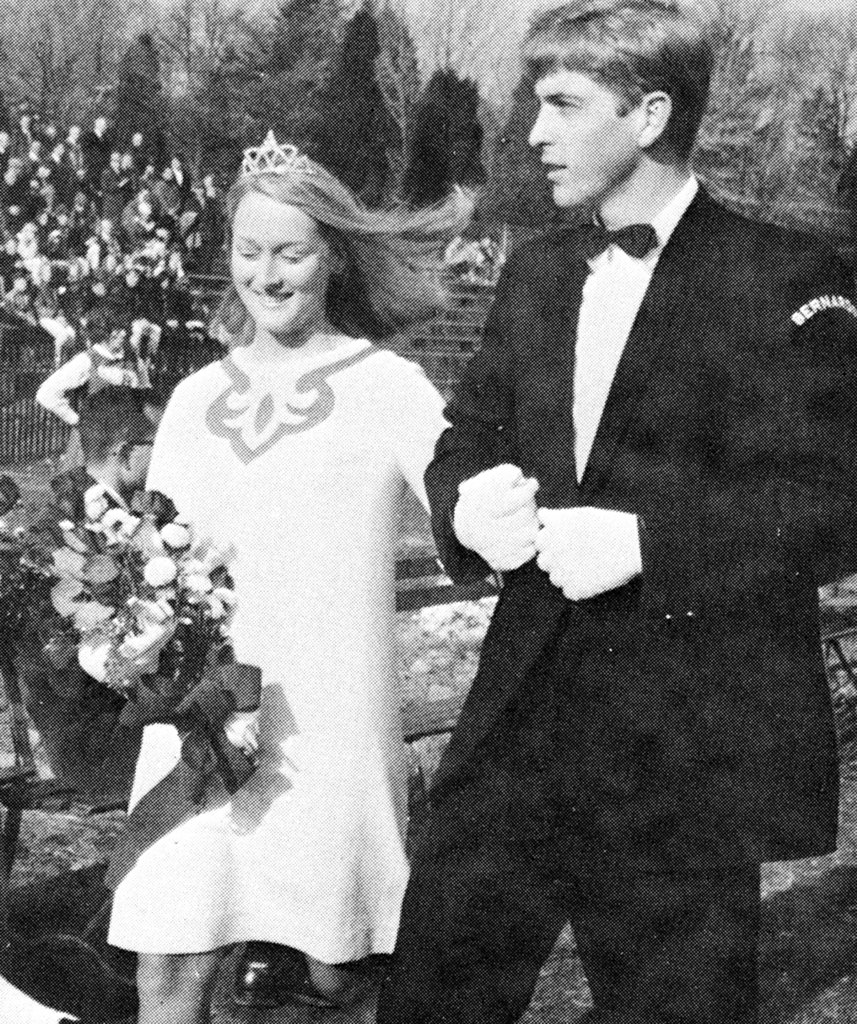 Even in high school, Meryl was royalty. Source: Seth Poppel/Yearbook Library