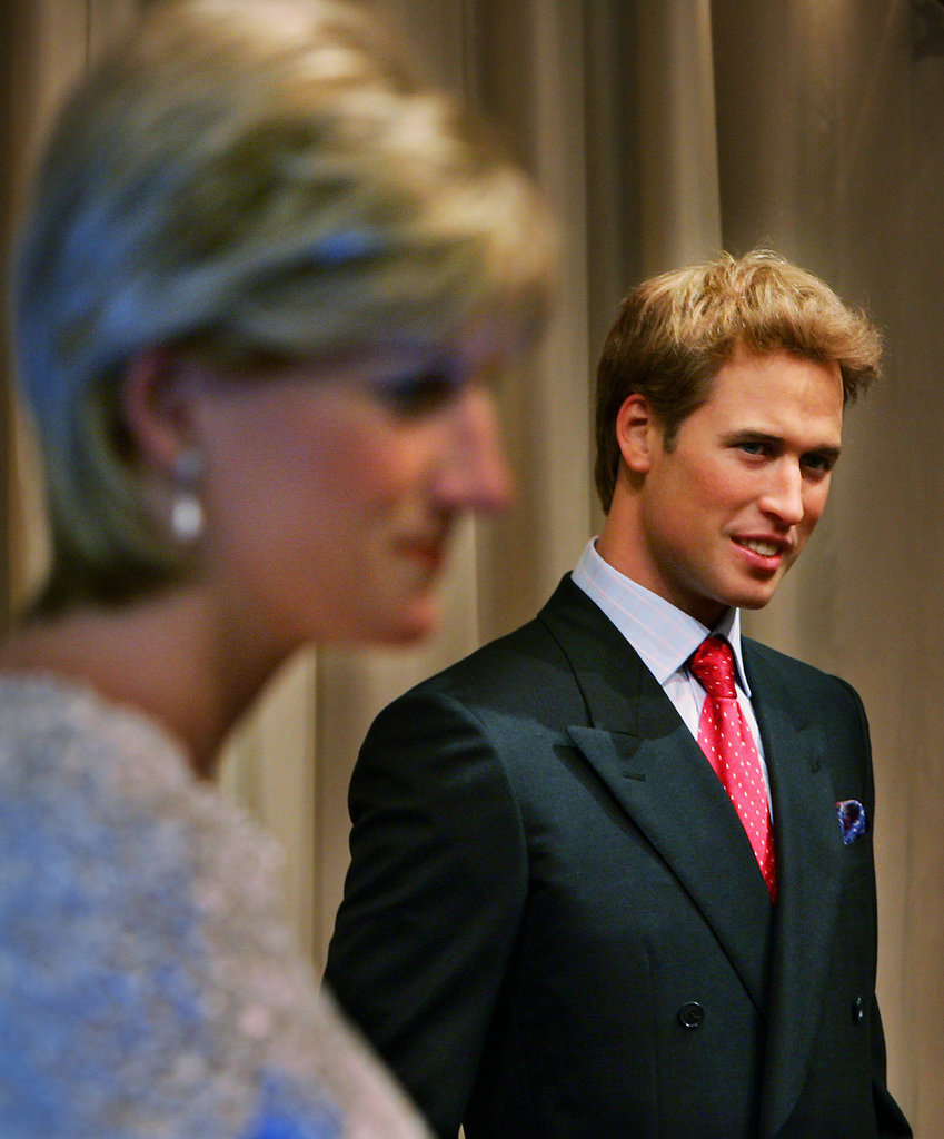 This waxwork was unveiled in 2005, and Madame Tussauds worked with the royals closely to create it, spending three months and more than $150,000 on it.