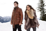 Christian Camargo as Eleazar and Mia Maestro as Carmen in Breaking Dawn Part 2.