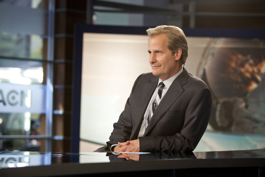Jeff Daniels on The Newsroom.