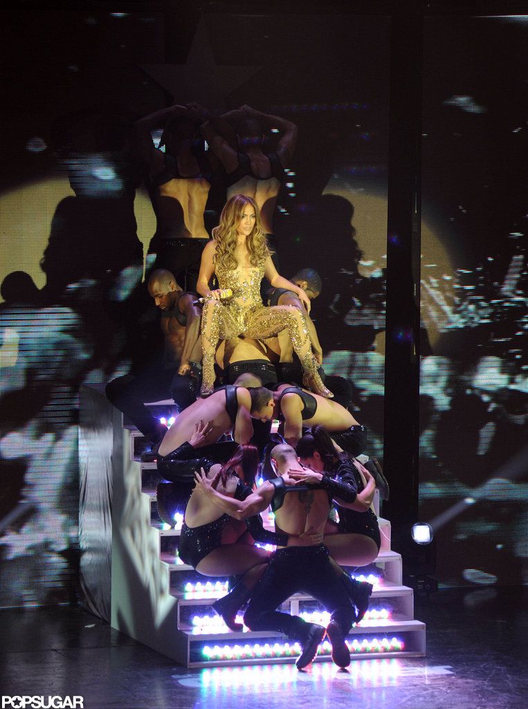 Jennifer Lopez performed in Argentina.