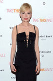 Michelle Williams wore Altuzarra for a premiere.