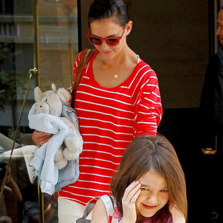 Katie Holmes Suri Cruise Pictures in NYC Together