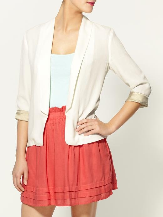 Every girl needs a chic seasonal topper, and this lightweight blazer will pull double duty in the office and on weekends.  Tinley Road Drapey Blazer ($48, originally $69)