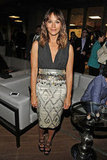 Rashida Jones rocked Altuzarra's metallics for an appearance at the LA Film Festival.
