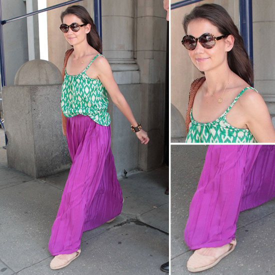 How effortless and breezy does Katie Holmes look here? Get her look for easy Summer styling.